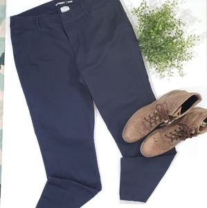 Old Navy Midrise Pixie Ankle Chinos Pants